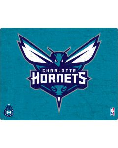 Charlotte Hornets Distressed-Aqua Apple MacBook Pro 16-inch Skin
