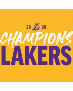 2020 Champions Lakers AWS DeepRacer Skin