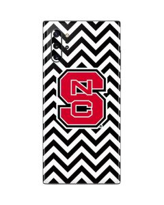 NC State Chevron Print Galaxy Note 10 Plus Skin