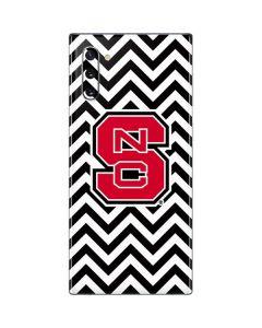 NC State Chevron Print Galaxy Note 10 Skin