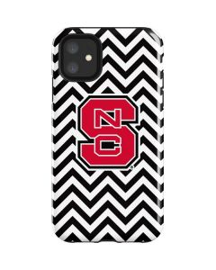 NC State Chevron Print iPhone 11 Impact Case