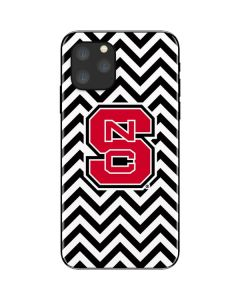 NC State Chevron Print iPhone 11 Pro Skin