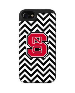 NC State Chevron Print iPhone SE Wallet Case