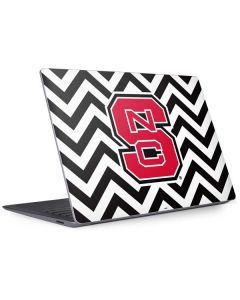 NC State Chevron Print Surface Laptop 3 13.5in Skin