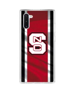 NC State Flag Galaxy Note 10 Clear Case