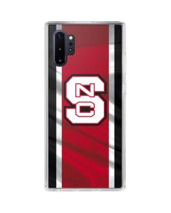 NC State Flag Galaxy Note 10 Plus Clear Case