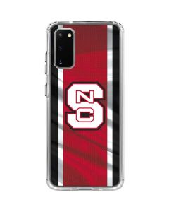 NC State Flag Galaxy S20 Clear Case