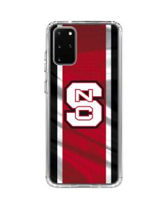 NC State Flag Galaxy S20 Plus Clear Case