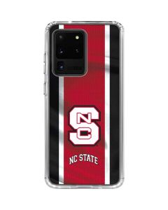 NC State Flag Galaxy S20 Ultra 5G Clear Case