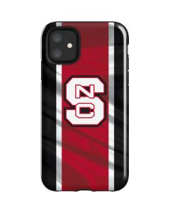 NC State Flag iPhone 11 Impact Case
