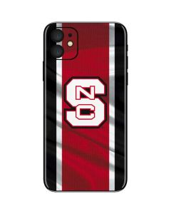 NC State Flag iPhone 11 Skin