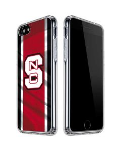 NC State Flag iPhone SE Clear Case