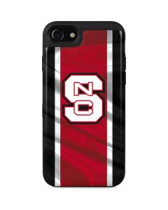 NC State Flag iPhone SE Wallet Case
