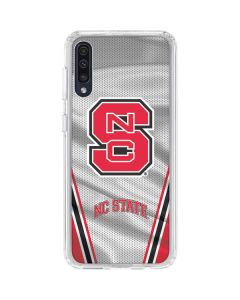 NC State Galaxy A50 Clear Case