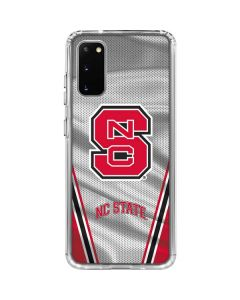 NC State Galaxy S20 Clear Case