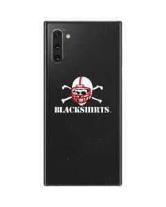 Nebraska Blackshirts Skull Galaxy Note 10 Skin