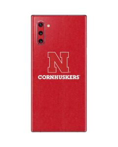 Nebraska Cornhuskers Galaxy Note 10 Skin