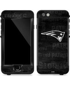 New England Patriots Black & White LifeProof Nuud iPhone Skin