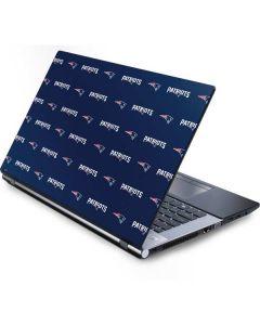 New England Patriots Blitz Series Generic Laptop Skin