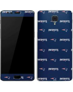 New England Patriots Blitz Series OnePlus 3 Skin