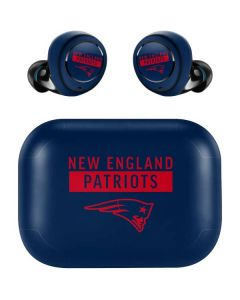 New England Patriots Blue Performance Series Amazon Echo Buds Skin