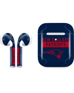 New England Patriots Blue Performance Series Apple AirPods 2 Skin