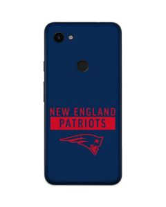 New England Patriots Blue Performance Series Google Pixel 3a Skin