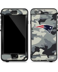 New England Patriots Camo LifeProof Nuud iPhone Skin