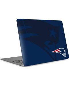 New England Patriots Double Vision Apple MacBook Air Skin