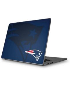 New England Patriots Double Vision Apple MacBook Pro 17-inch Skin