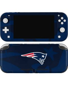 New England Patriots Double Vision Nintendo Switch Lite Skin