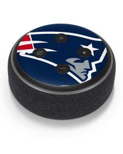 New England Patriots Large Logo Amazon Echo Dot Skin