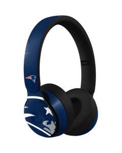 New England Patriots Large Logo Beats Solo Pro Skin