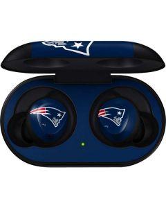 New England Patriots Large Logo Galaxy Buds Skin