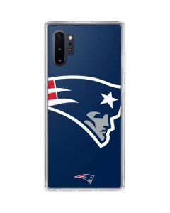New England Patriots Large Logo Galaxy Note 10 Plus Clear Case