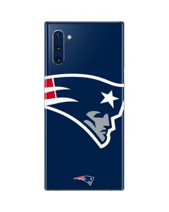 New England Patriots Large Logo Galaxy Note 10 Skin