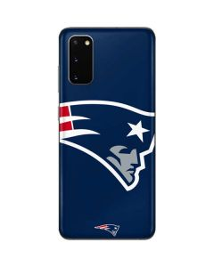 New England Patriots Large Logo Galaxy S20 Skin