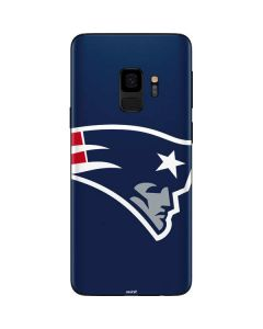 New England Patriots Large Logo Galaxy S9 Skin