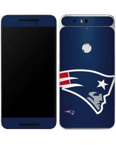 New England Patriots Large Logo Google Nexus 6P Skin
