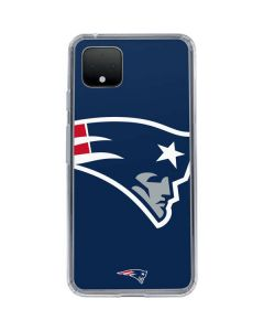 New England Patriots Large Logo Google Pixel 4 Clear Case