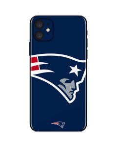 New England Patriots Large Logo iPhone 11 Skin