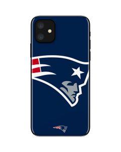 New England Patriots Large Logo iPhone 11 Skin