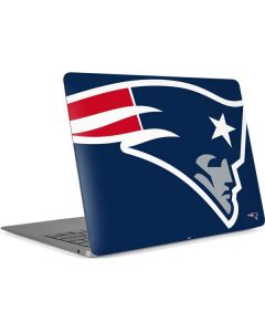 New England Patriots Large Logo Apple MacBook Air Skin