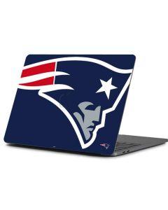 New England Patriots Large Logo Apple MacBook Pro 13-inch Skin
