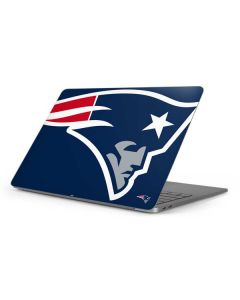 New England Patriots Large Logo Apple MacBook Pro 16-inch Skin