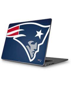 New England Patriots Large Logo Apple MacBook Pro 17-inch Skin
