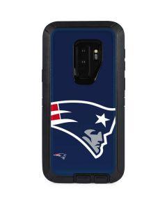 New England Patriots Large Logo Otterbox Defender Galaxy Skin