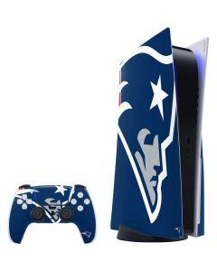 New England Patriots Large Logo PS5 Bundle Skin