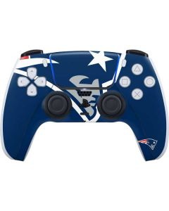 New England Patriots Large Logo PS5 Controller Skin