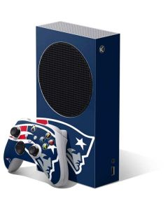 New England Patriots Large Logo Xbox Series S Bundle Skin